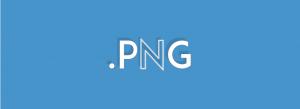 Formatos de archivo: el .png
