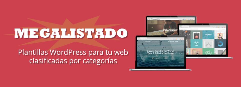 Encuentra las plantillas WordPress para tu web aquí