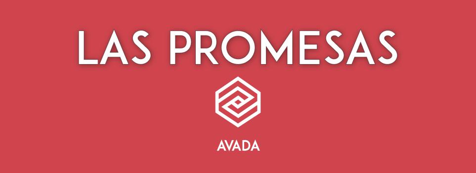 Las promesas del tema para WordPress Avada