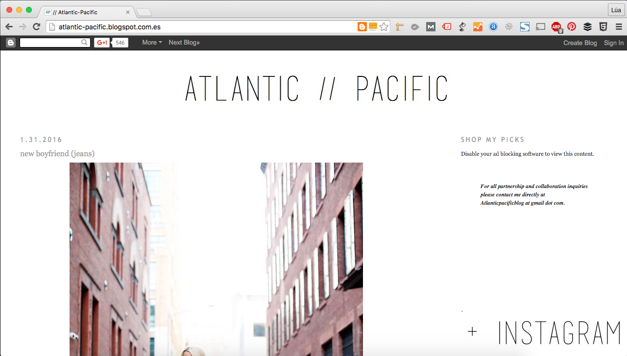 Atlantic / Pacific