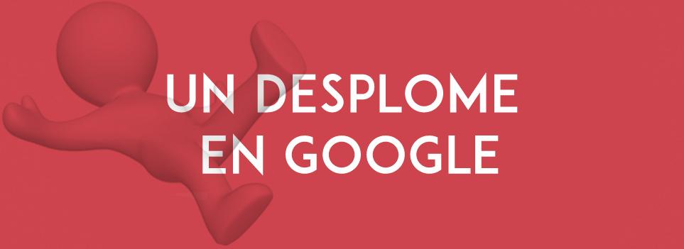 Desplome en Google
