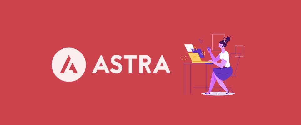 Astra, tema para WordPress
